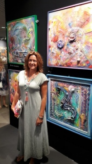 Diana at art3f in Cannes